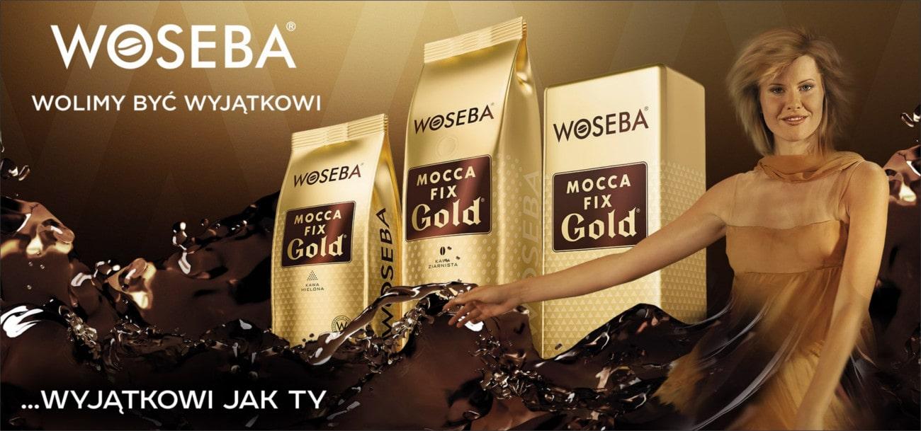 Kampania reklamowa WOSEBA MOCCA FIX GOLD