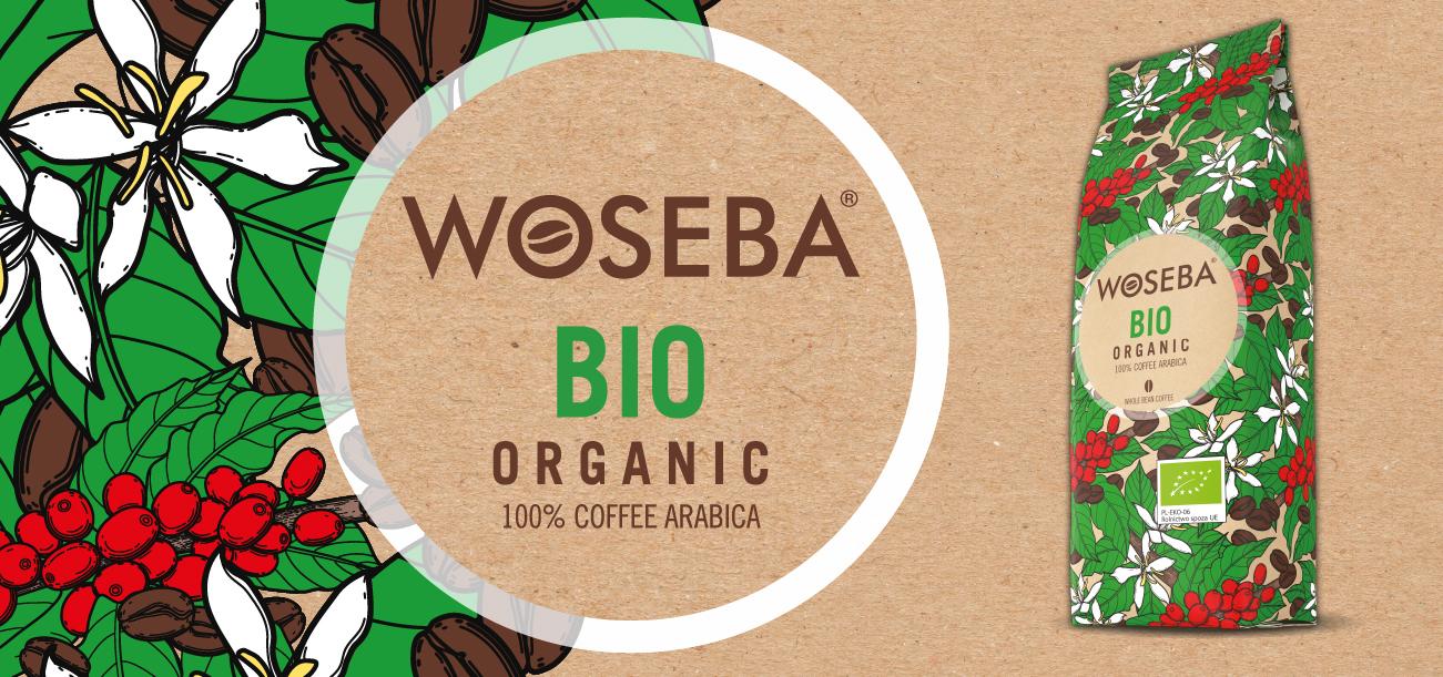 Kampania reklamowa WOSEBA BIO ORGANIC - KAWA ZIARNISTA